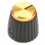 British Amplifier Gold Top Knob Tall