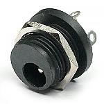 Rear-mount DC power Jack