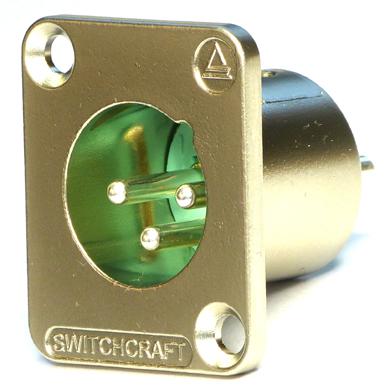 XLR3 Male Switchcraft