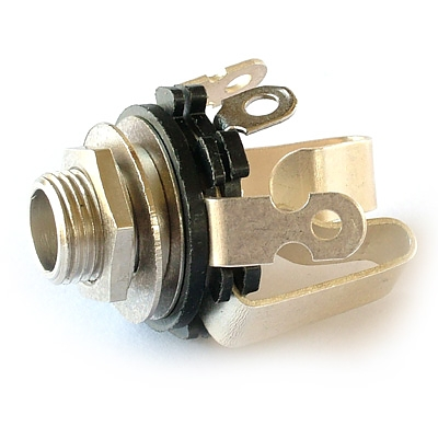 Open Frame 1/4 inch jack socket STEREO