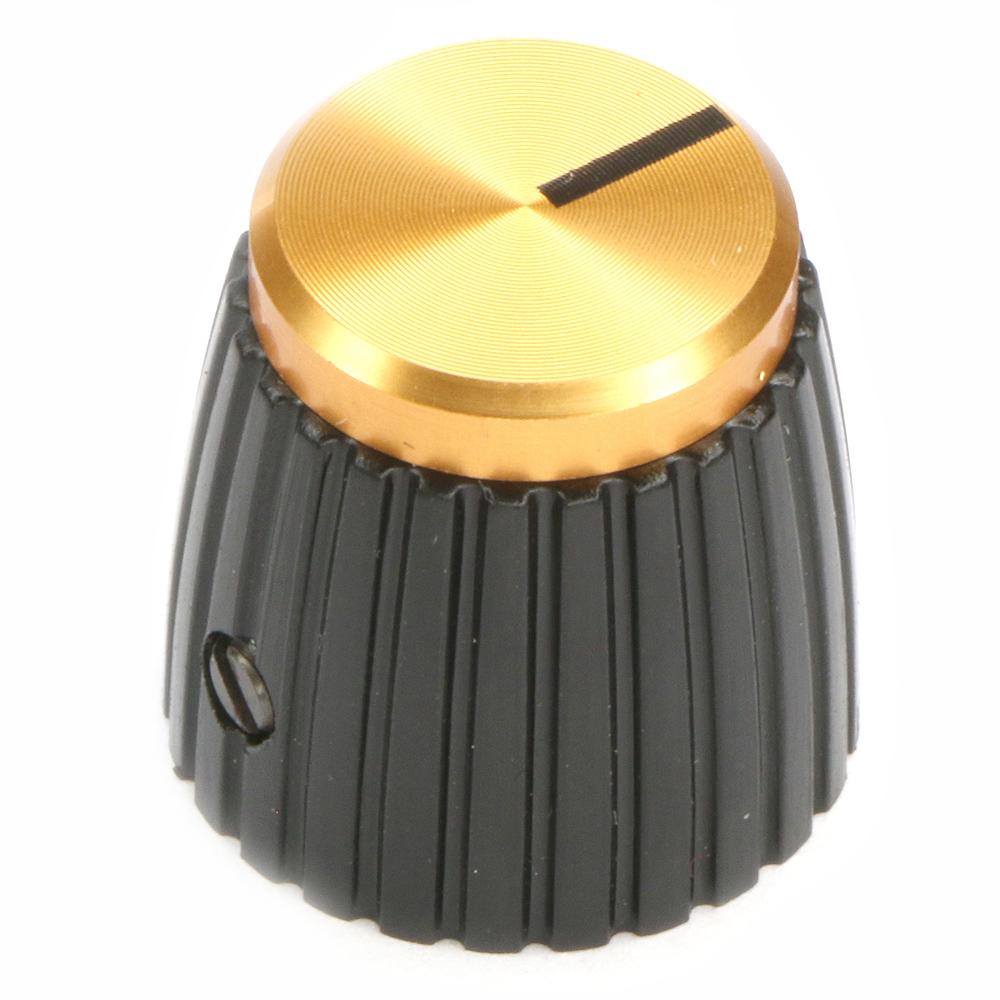 British Amplifier Gold Top Knob Tall