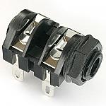 Mono 1/4 inch Switched Skt